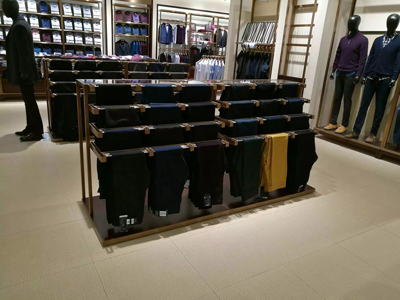 Clothing Display Racks for Men's Clothes