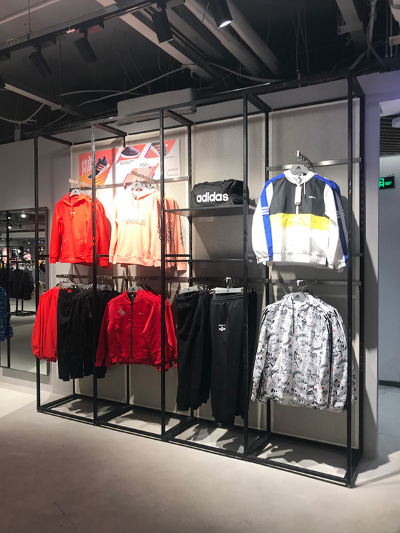 Clothing Display Racks in Different Season
