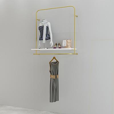 Clothing Display Racks on the Wall