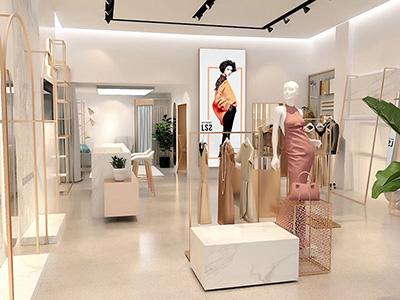 Girls' Aspirational Wardrobe and Clothing Display Racks