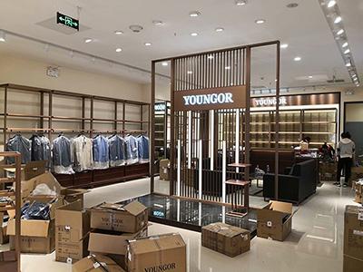 How do you show clothes for retail