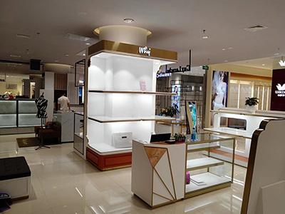 Shop Lighting Design and Clothing Display Racks