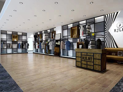 Store Decoration and Clothing Display Racks