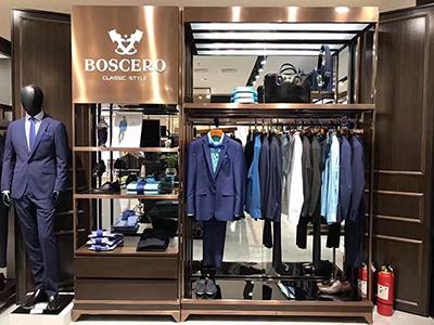 Suit Clothing Display Racks