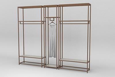 The Classical Clothing Display Racks
