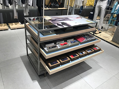 The Importance of the Location of Clothing Display Racks