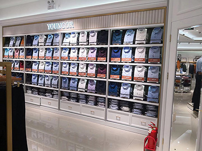 The Influence of Clothing Display Racks Layout on Clothing Stores