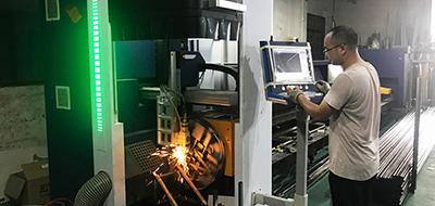 Three-dimensional Pipe Laser Cutting Machine for Clothing Display Racks