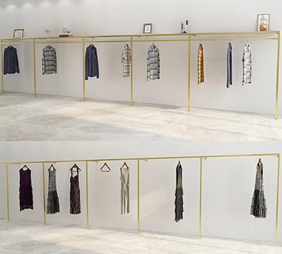 Wall Clothing Display Racks